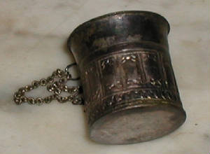 Antique Silver Sireh Box