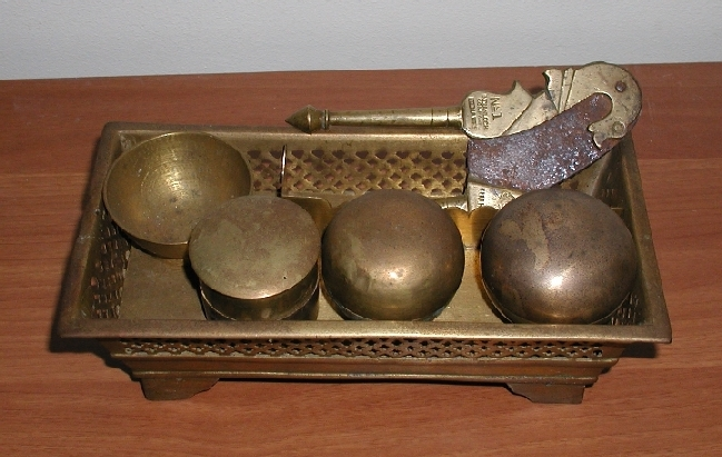 Antique Betel Nut Set (Excludes Antique cutter)